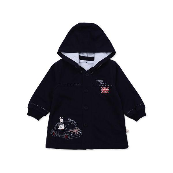 Куртки, кофты из Китая :: Кара медведь Детская одежда моды детей к 2015 году мальчики пальто осенью Новой Англии младенца Cap пальто 63153.