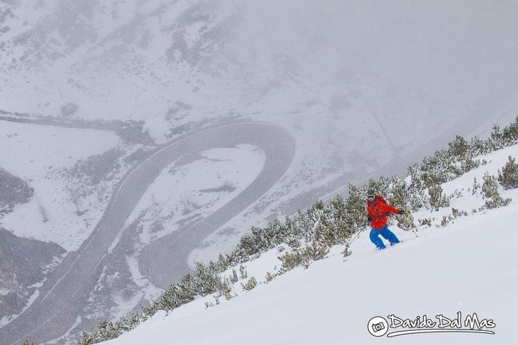 Sciare in Marmolada