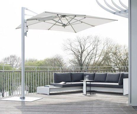 Parasol Lounge nadaje się dla osób ceniących odpoczynek pod czaszą parasola. Solidna konstrukcja Bardzo komfortowe rozkładanie parasola dzięki sprężynie auto lift oraz solidna konstrukcja z najwyższej jakości materiałów.