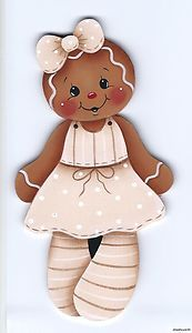 HP Gingerbread Girl Magnet