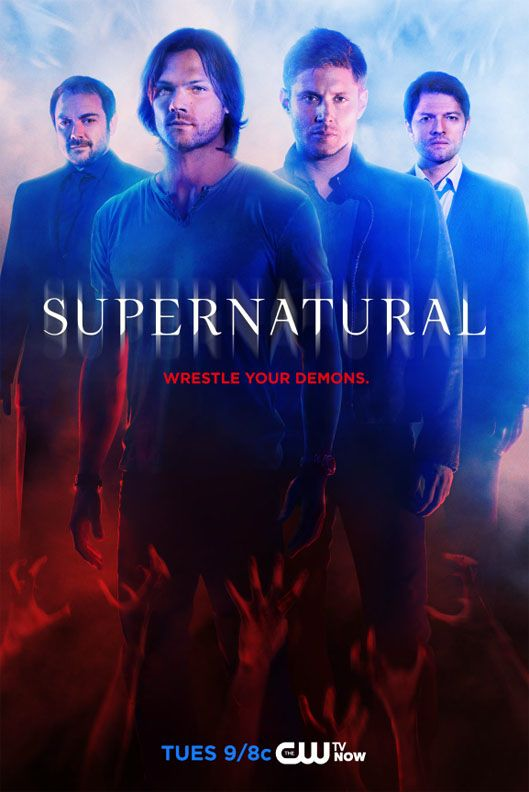 Supernatural Season Ten Poster Released