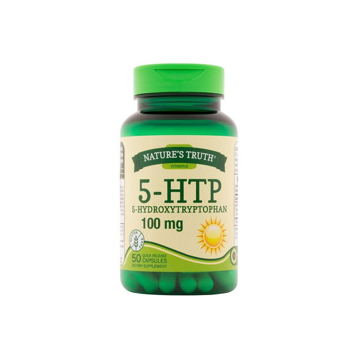 Nature's Truth 5-Hydroxytryptophan Quick Release Dietary Supplement Capsules - 50ct