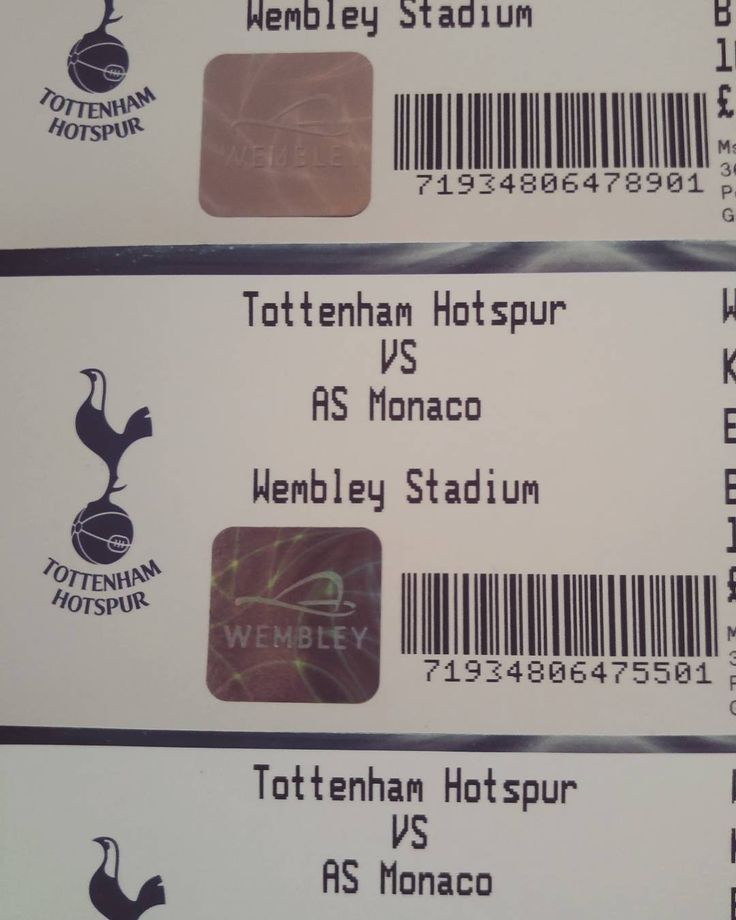 Bring it on #coys #wembley