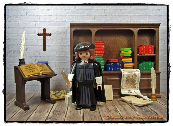 Martin Luther, by Woody der Playmo-Fotograf (playmobil)