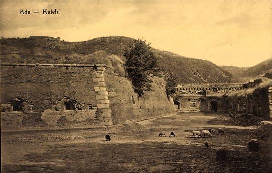 Ada Kaleh - Fortificatii - interbelica