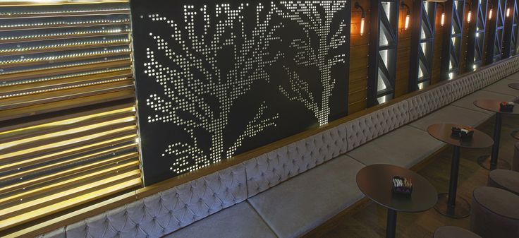 Bo Cafe Florina #interior #design #EpilisisStudio #cafe #bar #industrial #walllight