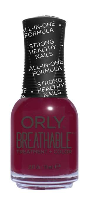 Orly Breathable Treatment + Color - The Antidote | Breathe Life into Damaged Nails with Orly Breathable Treatment + Color; see the new collection at http://www.nailitmag.com/orly-breathable