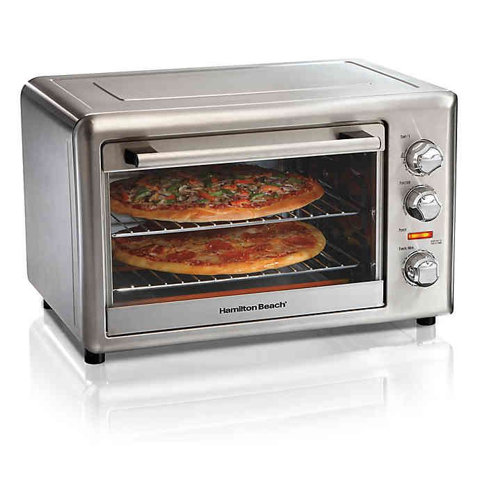 Hamilton Beach Countertop Oven With Convection Rotisserie
