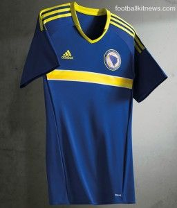 This is the new Bosnia home shirt the Bosnian national team's new principal  uniform for fixtures in the season. It will also be the nation's home kit  at ...