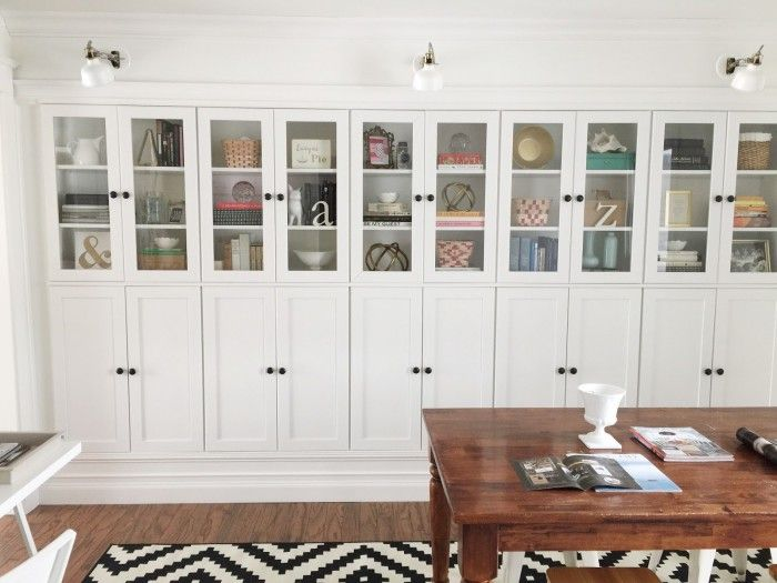 built in ikea hacks to make your jaw drop hidden storage cabinets