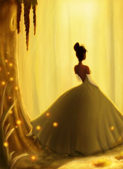 I've always thought that Princess Tiana was like an African American version of Cinderella
