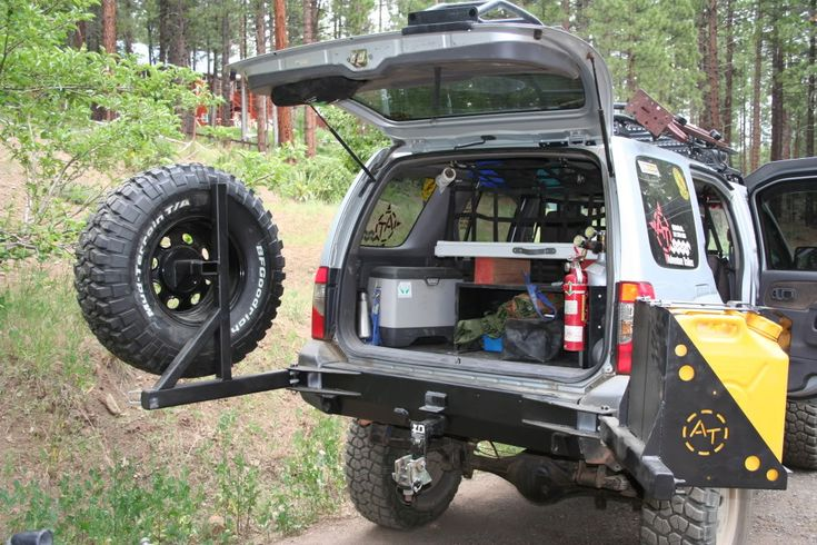 Swing out tire carrier latch and hinge ideas - OFN Forums ...