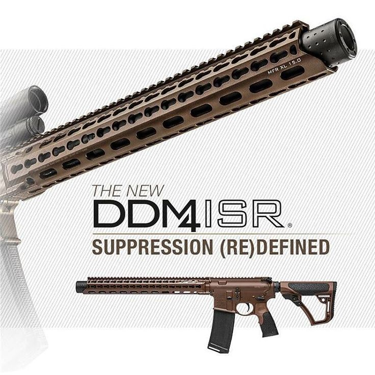 The new 300BLK Integrally Suppressed ISR is now available through any Daniel Defense Stocking Dealer! #danieldefense #suppressor #silencer