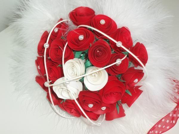 Bouquet+sposa+di+Monica+Vittani+Handmade+su+DaWanda.com
