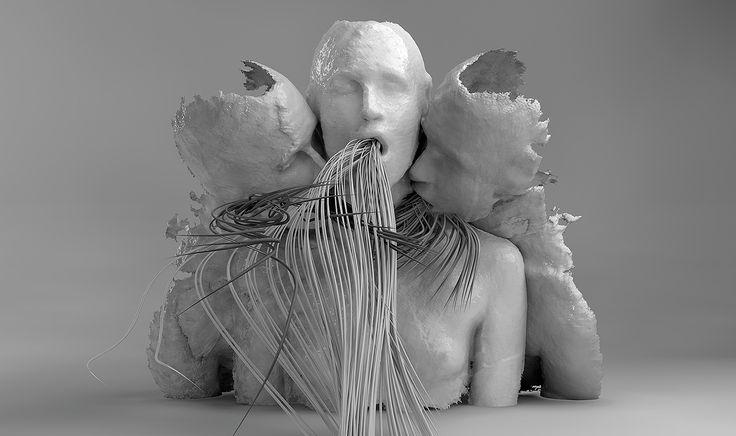 TTY 3D modelling en sculpturen