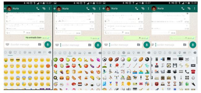 os nuevos emojis para WhatsApp disponibles con la última actualización. Descarga e instalación