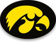 FRONT OF WIDGET - Free 2014 Iowa Hawkeyes Football Schedule Widget for Mac OS X - Let's Go Hawks! - National Champions 1958  http://riowww.com/teamPages/Iowa_Hawkeyes.htm