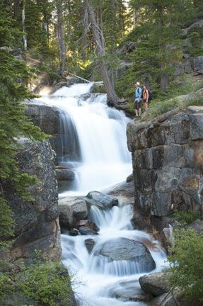Five Best Day Hikes to Tahoe's Waterfalls