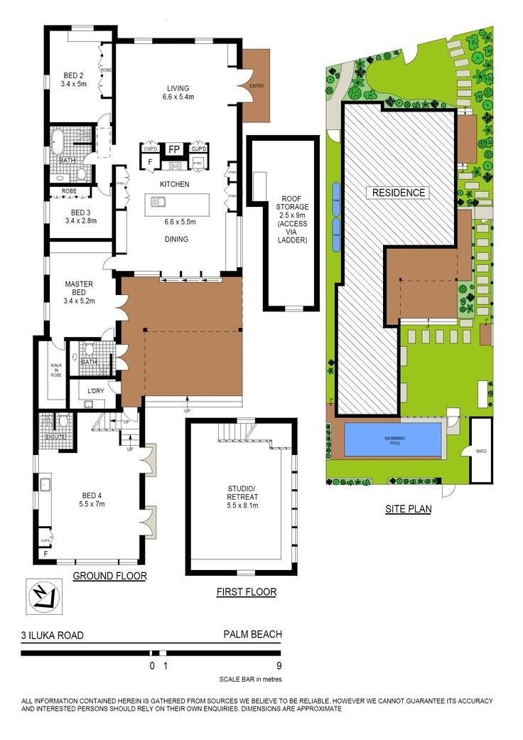 Palm Beach Beach House Floor Plan House Plans For The
