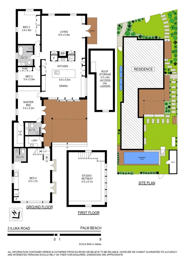Palm beach beach house floor plan house plans for the for Beach house floor plans