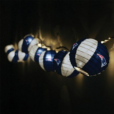 New England Patriots Team Lanterns & Lights Set