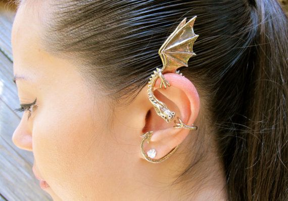 Hey, I found this really awesome Etsy listing at https://www.etsy.com/listing/104810251/dragon-ear-wrap-bronze-dragon-ear-cuff
