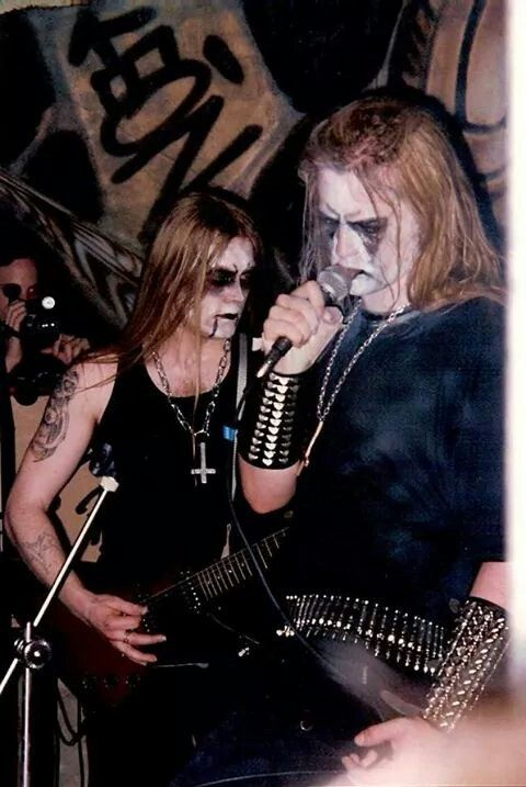 Satyricon live Paris, Gibus Club, 1996. Played with Gorgoroth and Dissection.
