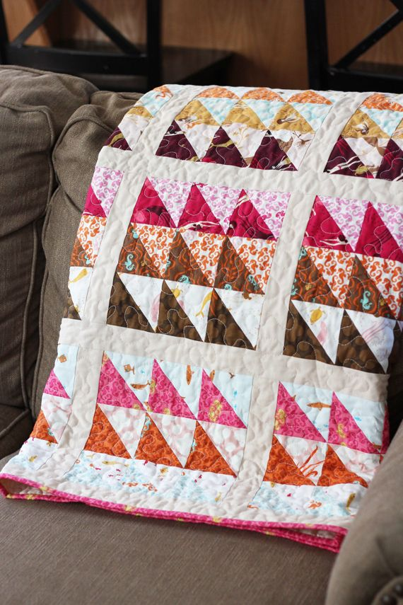 190 best Quilts: Triangles 90 Degree images on Pinterest ... : how quilts are made - Adamdwight.com