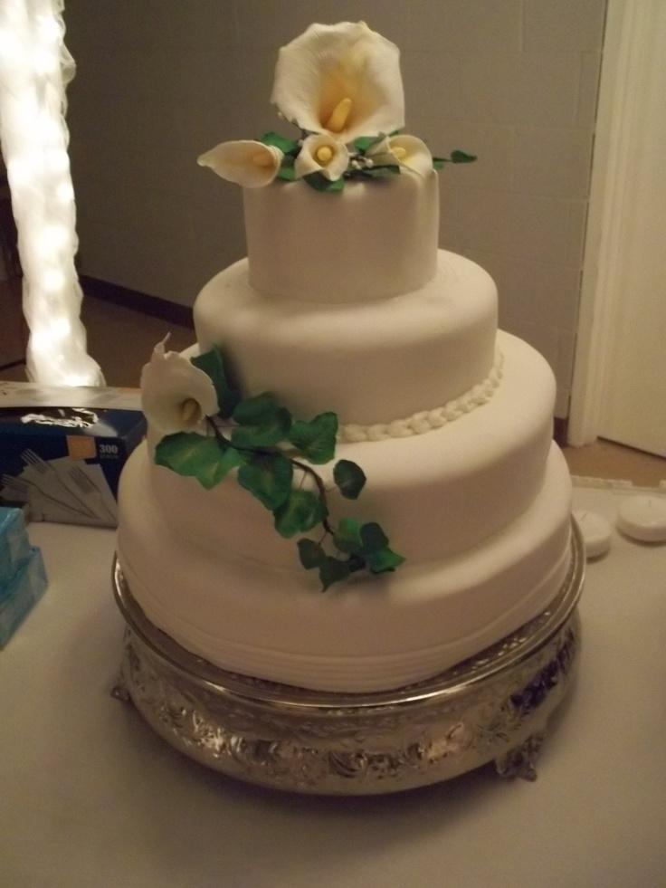 Vintage Wedding Cakes No Icing