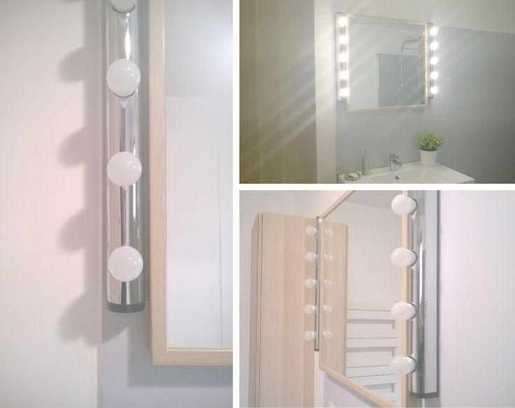 Salle de bain r novation en gris blanc et bois - Sophie ferjani decoratrice d interieur ...