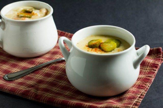 ... em bobtopich com carrot soup with dill pesto kristin nicholas soup