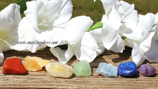 Piedras Energéticas - Kit completo de los 7centros energéticos mas importantes. 7 piedras chakras - chakras - Marilin Gabrys - 7 chacras - 7 piedras chakras - kit 7 chacras - kit 7 chakras – piedras energéticas – jaspe rojo – calcita verde – calcita azul – citrino – amatista - calcita naranja – lapislázuli - cristales de cuarzo