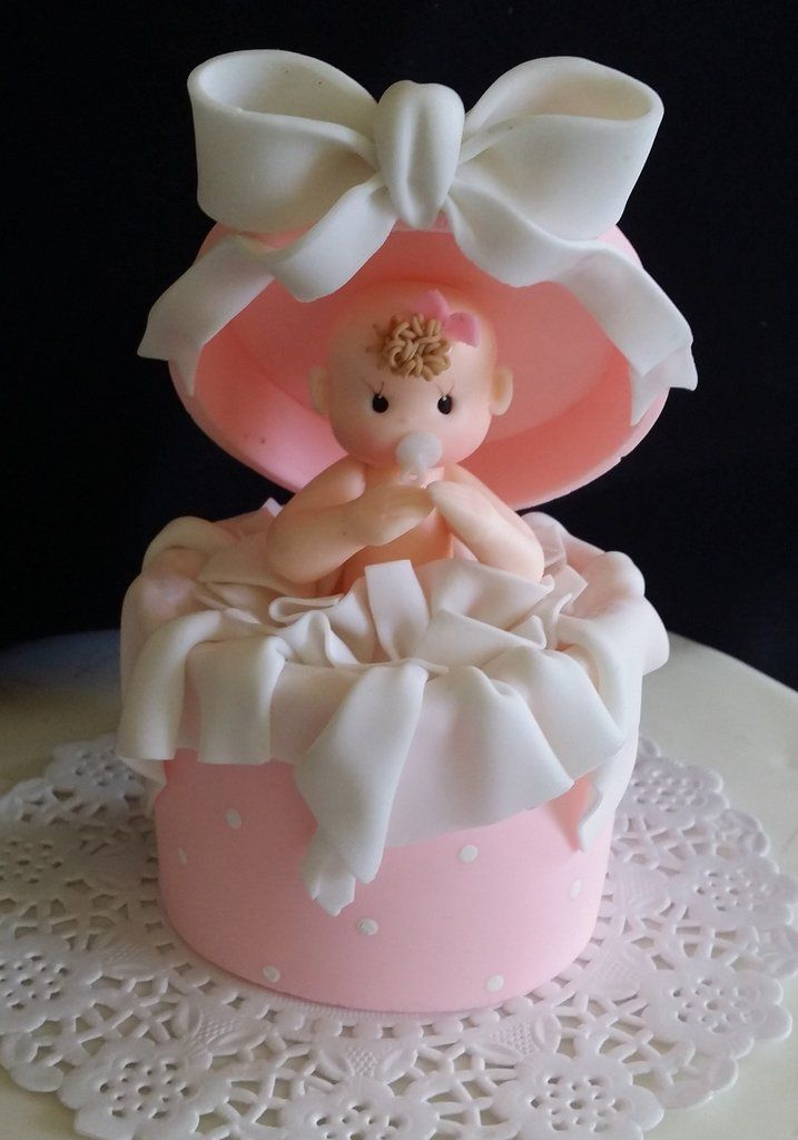 Baby Shower Cake Topper, Baby Shower Decoration, Baby Shower, Baby Girl Cake Topper, Baby Shower Favor, Pink Baby Shower, Boy Baby Shower - Cake Toppers Boutique  - 1