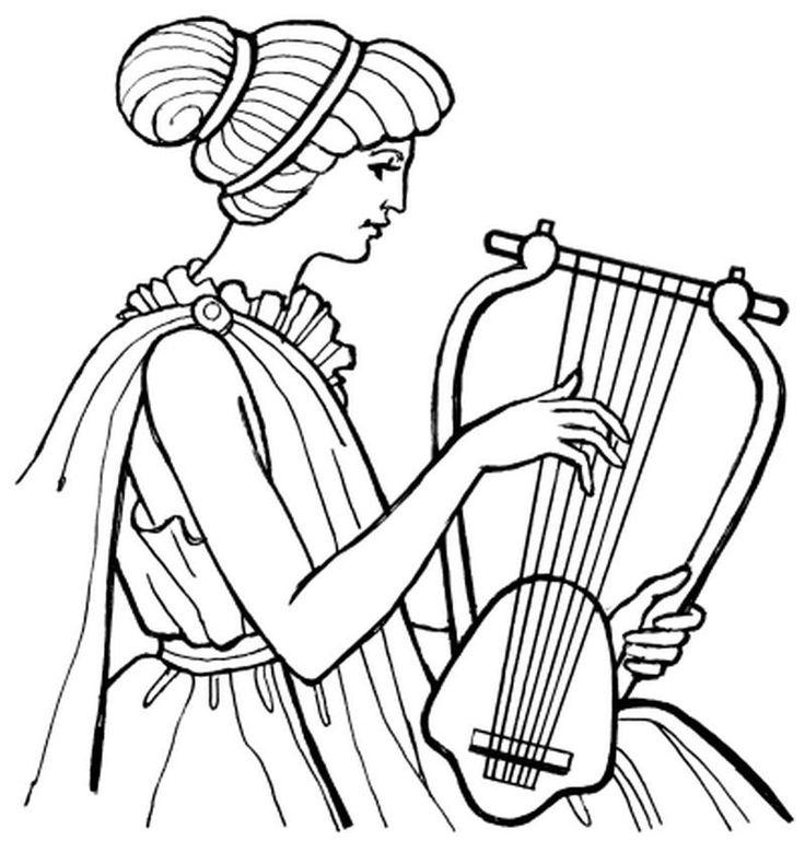 Картинка музы музыки для детей