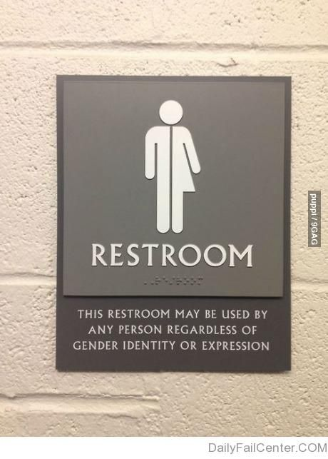Best 25 Unisex Bathroom Sign Ideas On Pinterest