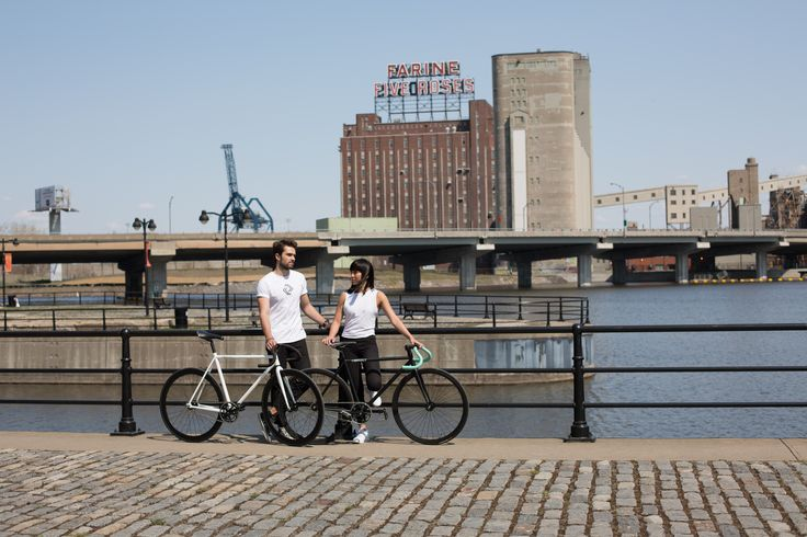 Courselle Cycles - Montreal / Five Roses Farine / Fixed gear / Single speed / Fixie bike