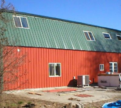 1000 ideas about metal building home kits on pinterest for Steel metal home gambrel building kit 3500 sq ft
