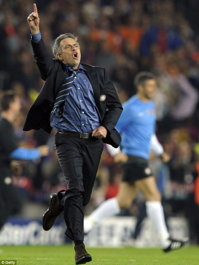 The Special One, the best coach in the world, almost the best in history