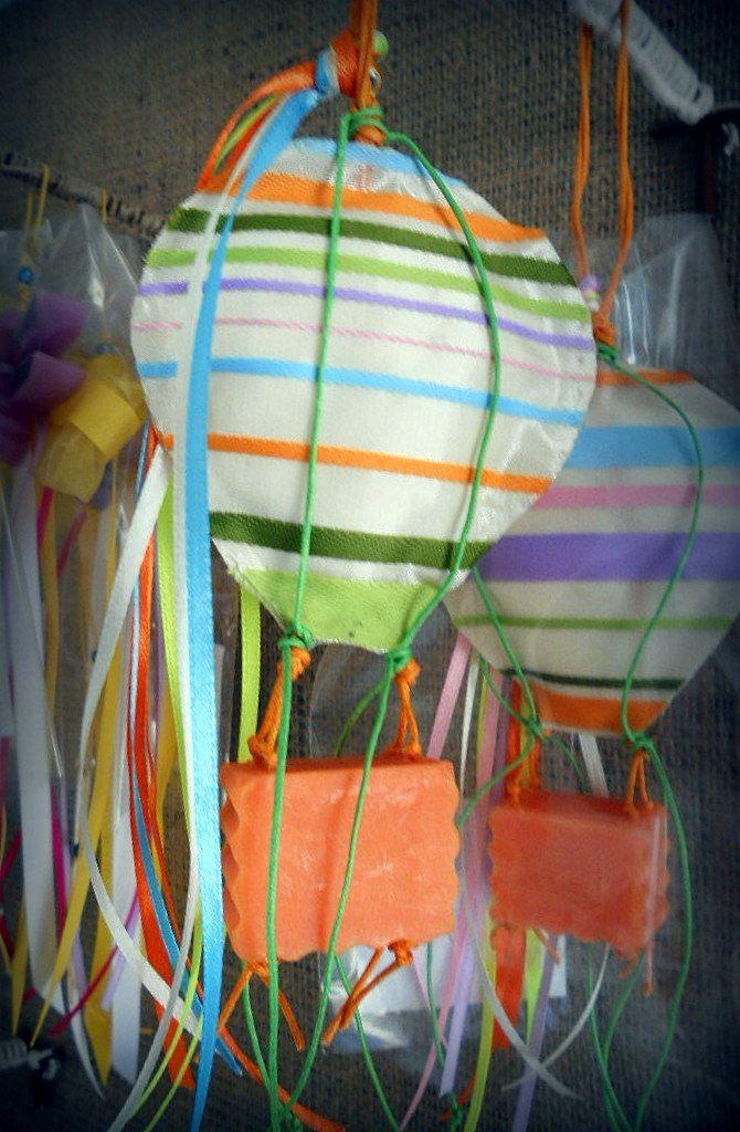 """Χειροποίητο, αρωματικό, διακοσμητικό σαπούνι """"Αερόστατο"""""""