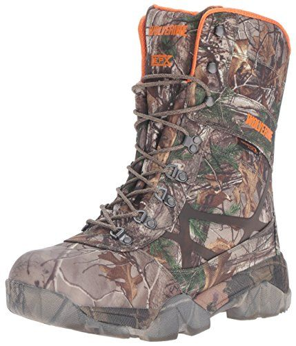 Wolverine Men's Archer 10 Inch Insulated Waterproof Hunting Boot, Realtree Extra, 11 M US