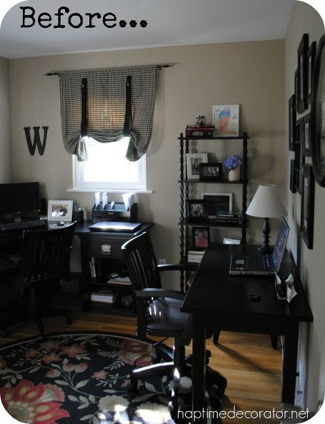 Before And After Home Office Makeover Spaces Office