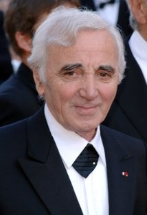 Charles Aznavour have been to his last concert! Nice France. iw
