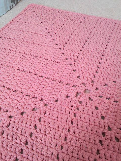 ...Handy Crafter...: cotton rug