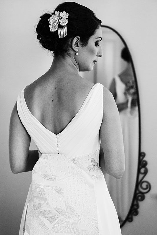 Leah and Ben's Perth wedding. Image by Perth wedding photographer Sara Hannagan Photography.