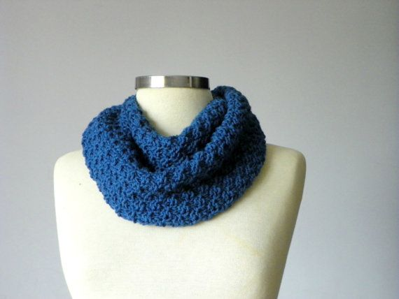 Knitted cowl unisex Fall  Winter accessories by Ozlempunchneedle, $40.00