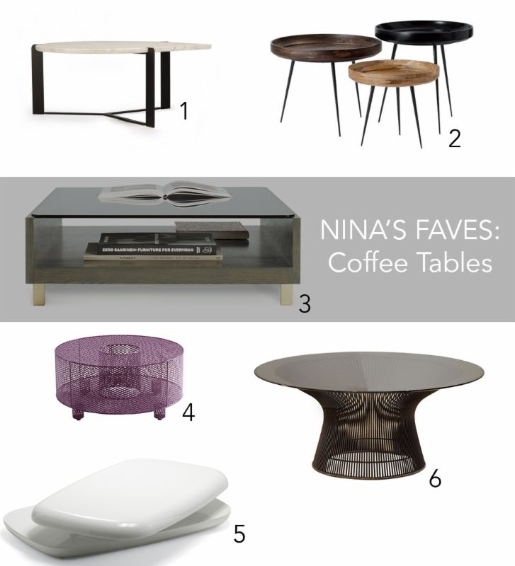 How To Choose The Right Coffee Table For Your Space By Nina Magon Of Contour Interior