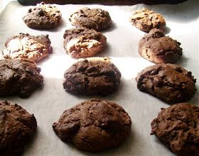 Quirky Cooking: Double Chocolate-Ginger Cookies
