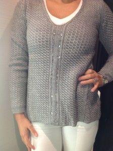 Grey sparkly R559- Zara  http://www.lipstickspin.com/blog/fashion-essentials/winter-jerseys/