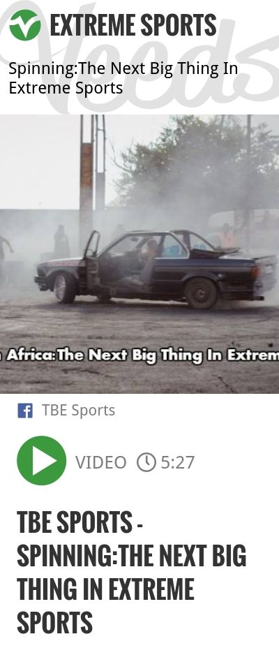 TBE Sports - Spinning:The Next Big Thing In Extreme Sports | http://veeds.com/i/EAro8n9UQAXuUjSm/extreme/