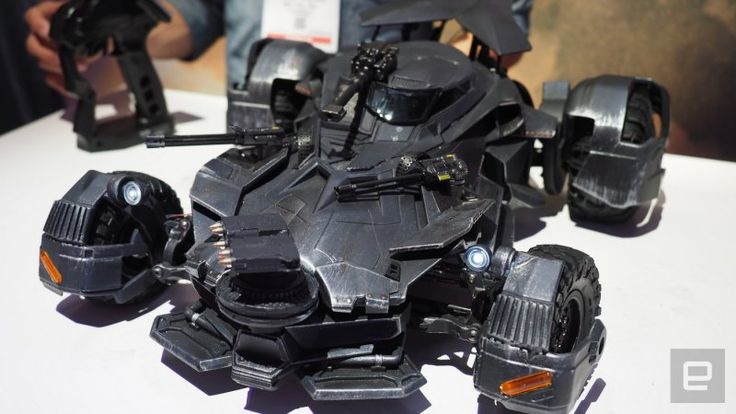 cool Batmobile toy uses augmented reality to show the driver's view